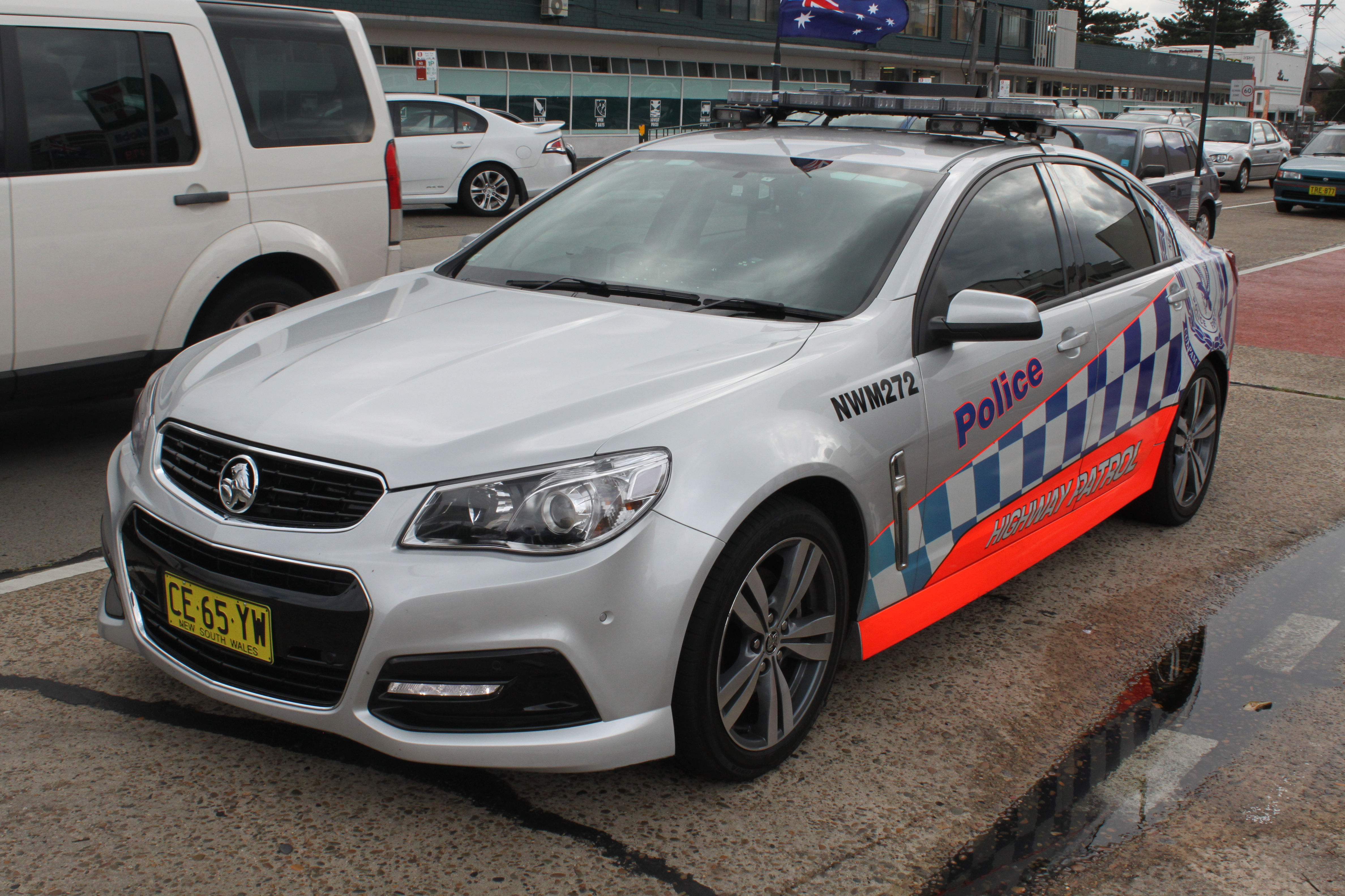 File2015 Holden Commodore VF MY15 SS sedan NSW Police Force