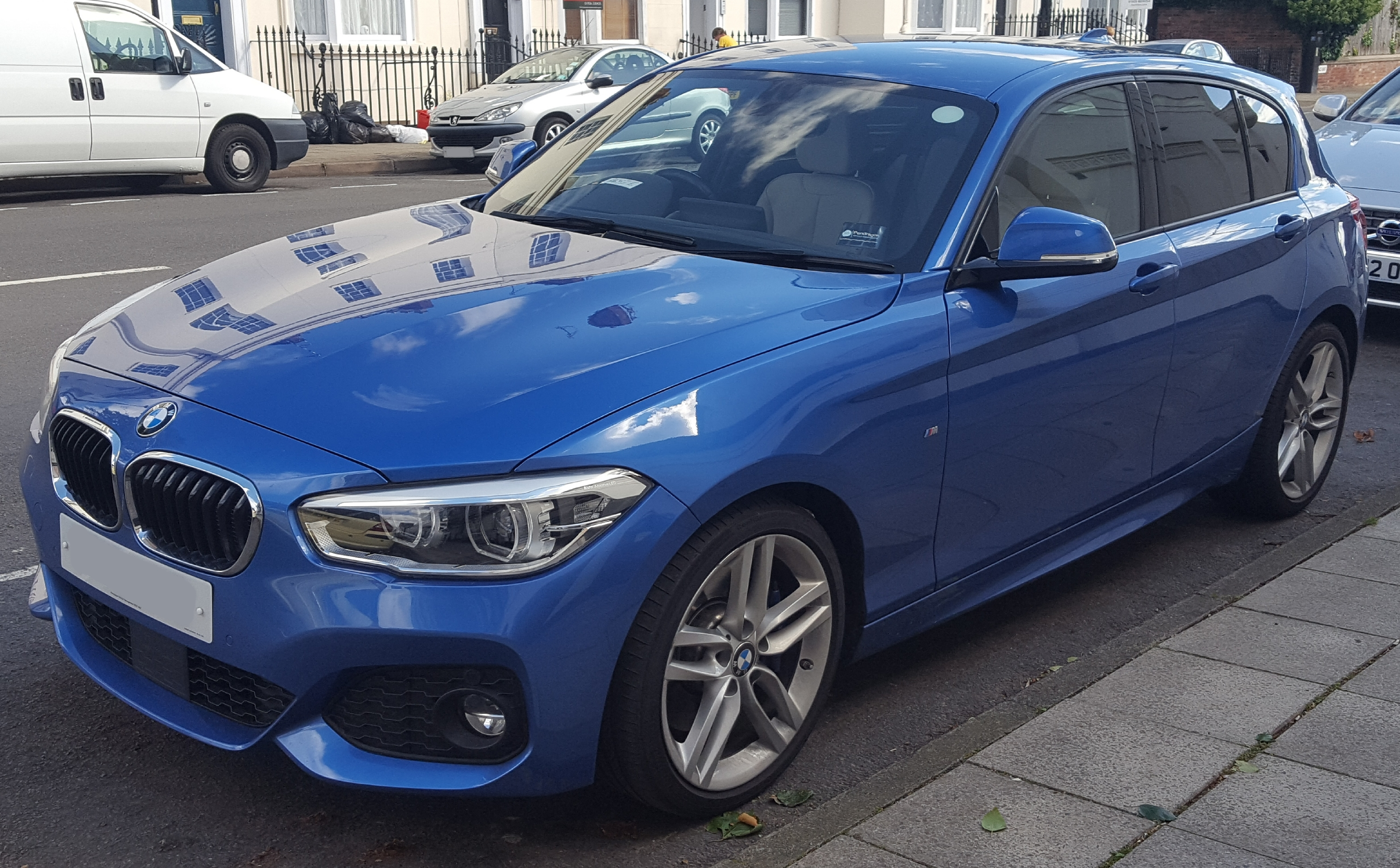 Bmw M Blue Paint Protection Tjo