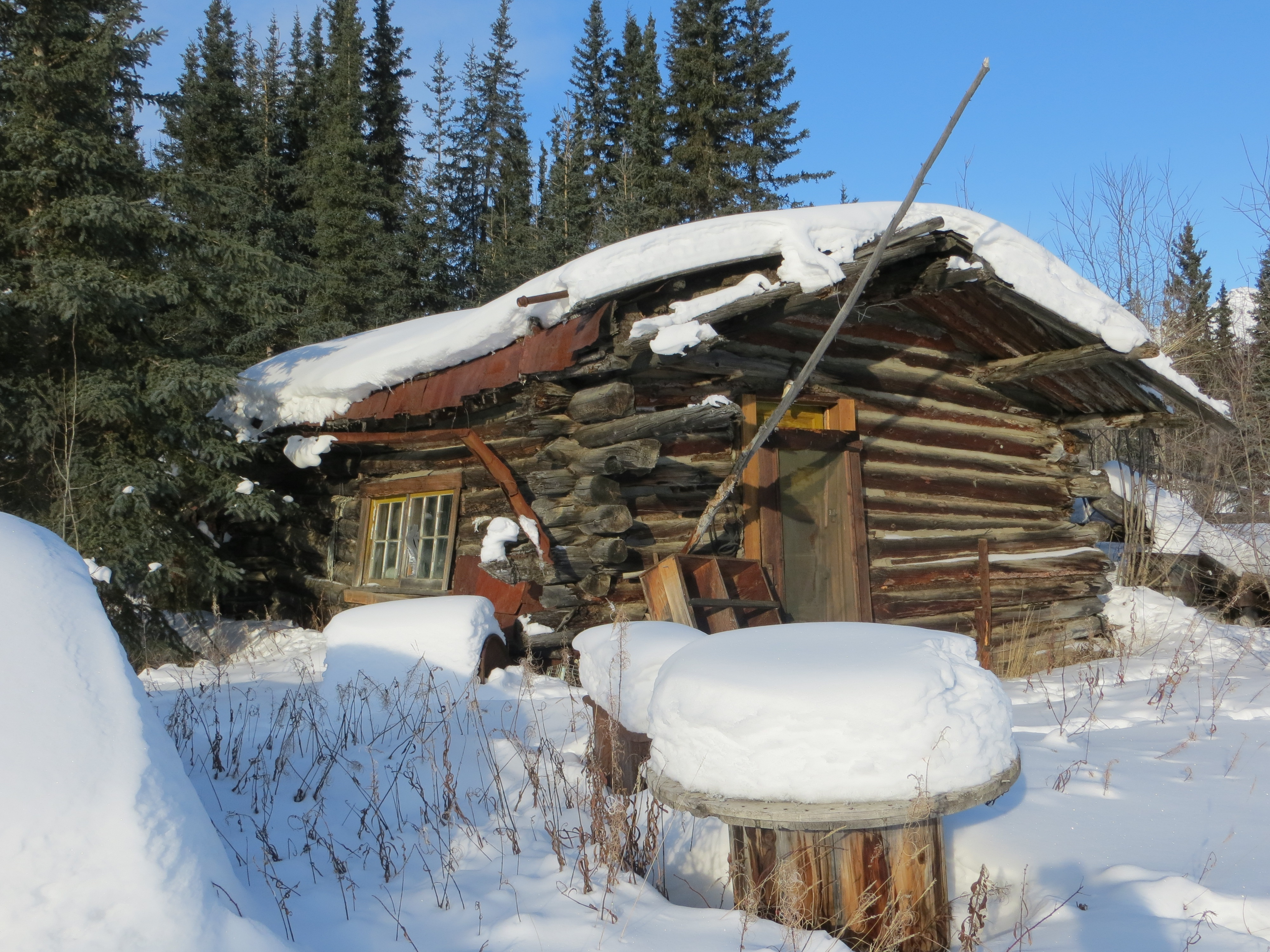 File A Home In Wiseman Alaska Jpg Wikimedia Commons
