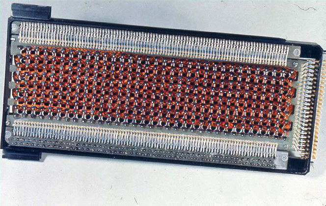 Apollo core rope memory