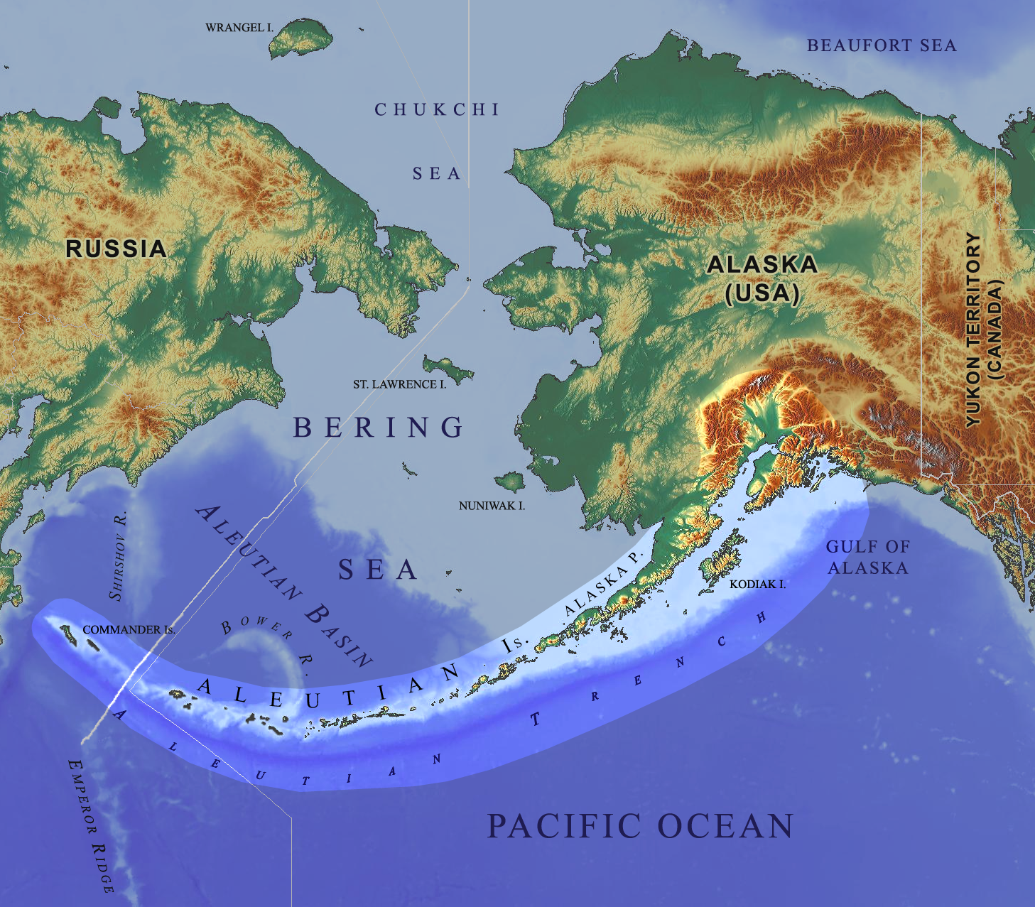 File Aleutian Arc Physical Geography Png Wikimedia Commons