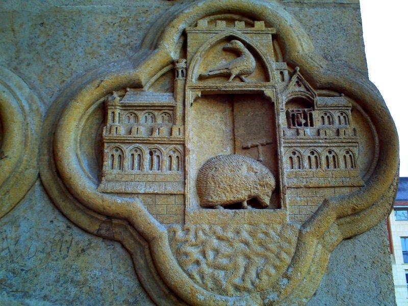 Notre Dame de Amiens Amiens_west_entrance_carving