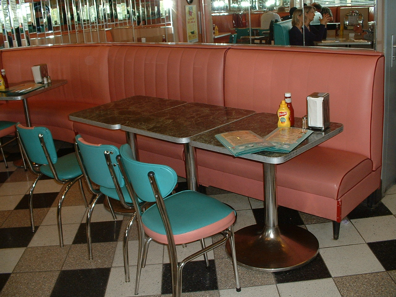 file annette 39 s diner table wikimedia commons ForTable A Diner