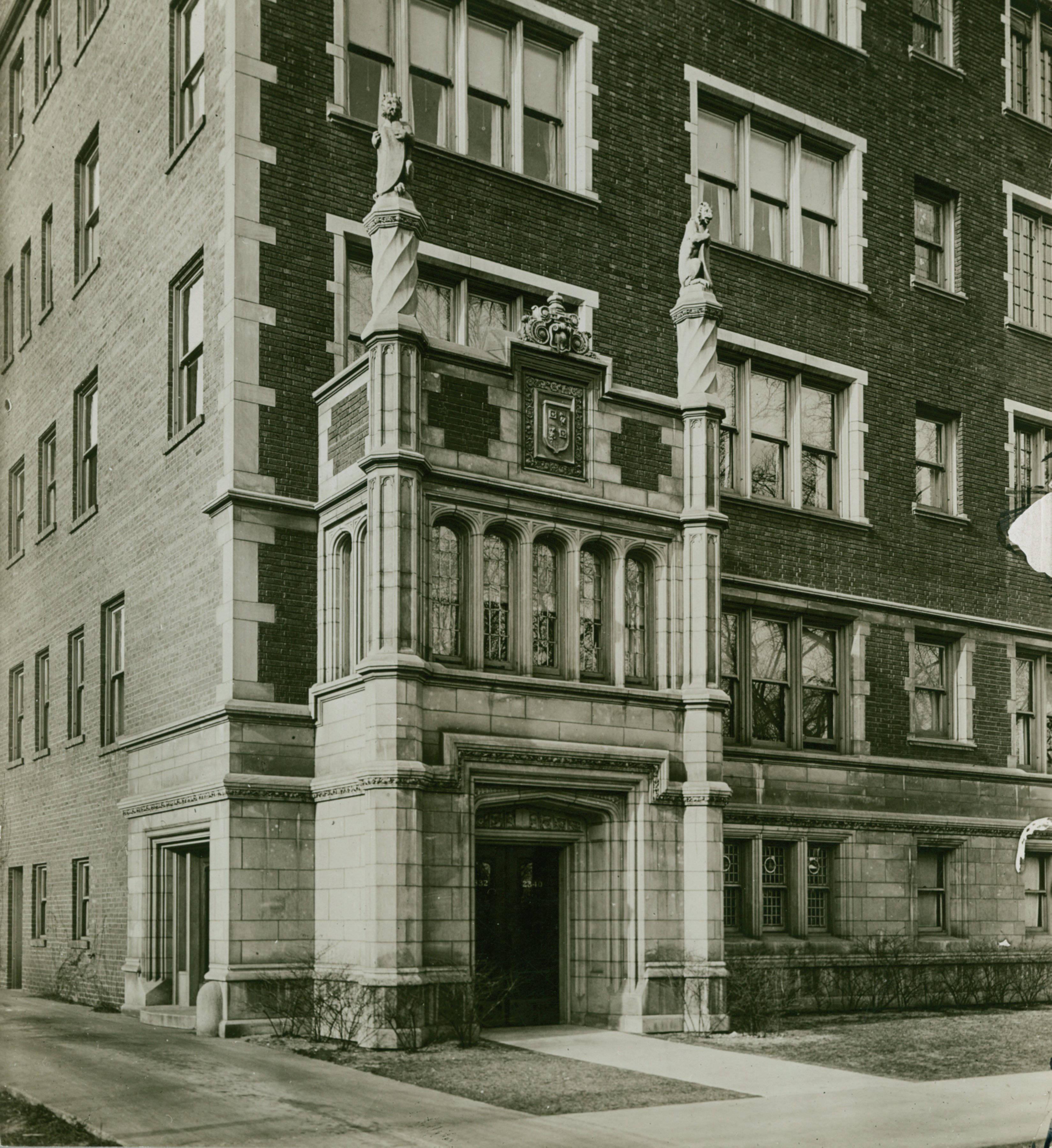 Lincoln Park Apartments For Rent: File:Apartment Building, 2332-2340 Lincoln Park West