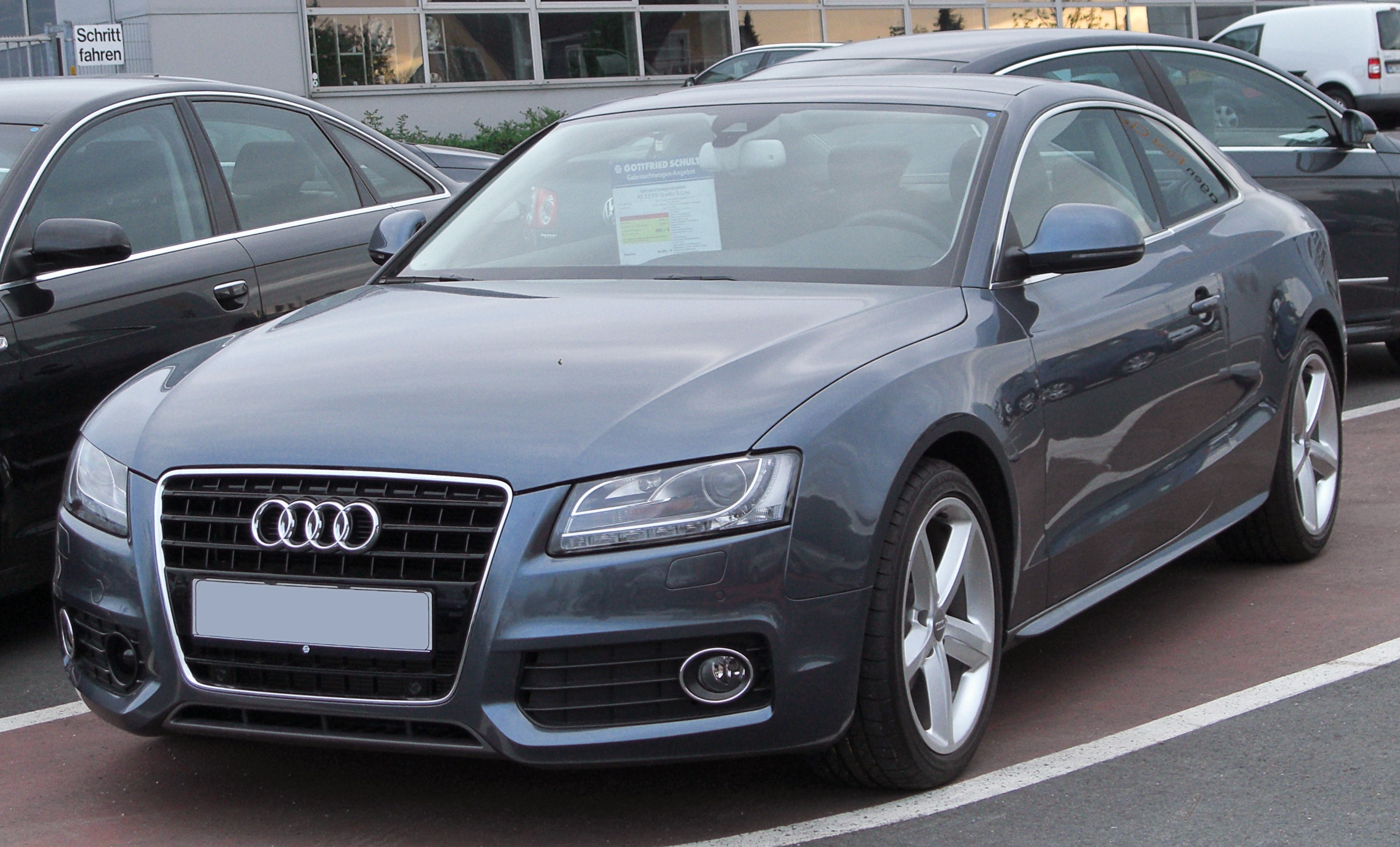 File audi a5 coup 3 2 fsi quattro s line front 20100519 jpg