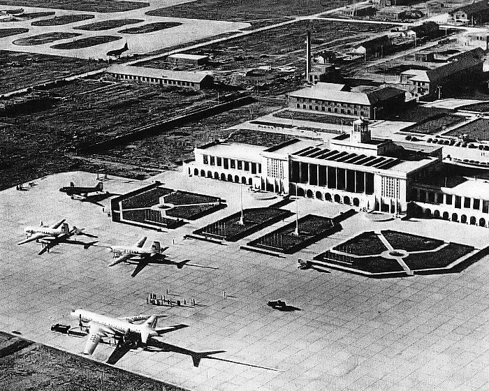 An Aerial View Of Beijing Airport 1959 Everyday Life In