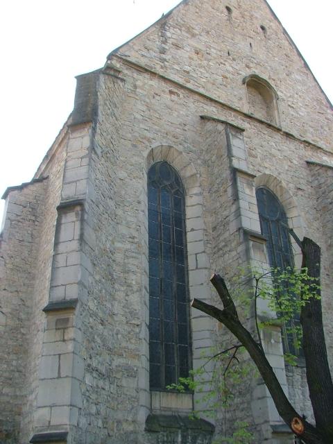 Fişier:Biserica Reformata din Cluj, de pe Str. Kogalniceanu.jpg