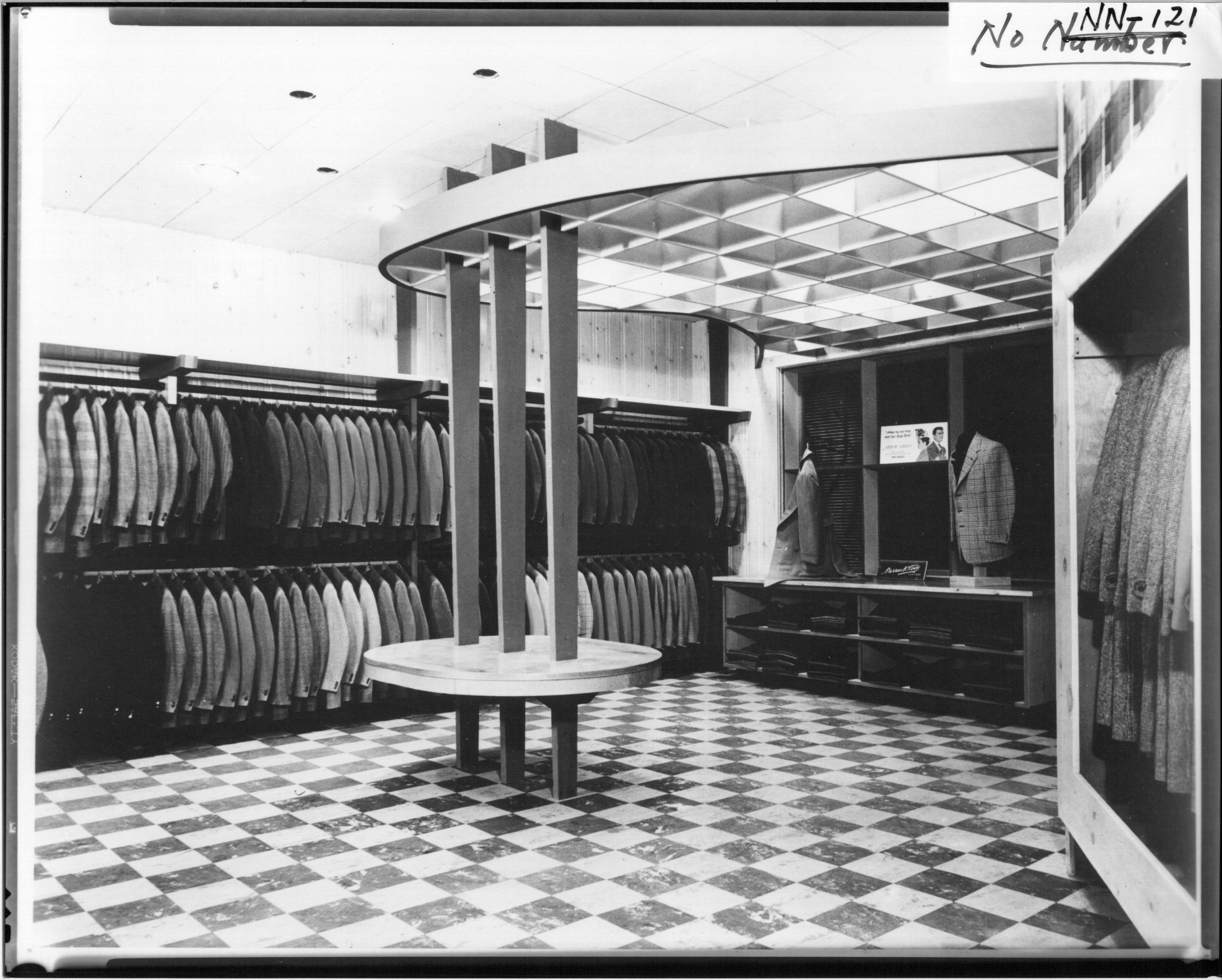 File:Boyes And Herd Clothing Store Interior Showing Coat Racks N.d.  (3191726843).