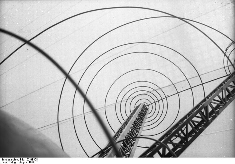 Sender auf der Berliner Funkausstellung 1929 - Quelle: Bundesarchiv / WikiCommons