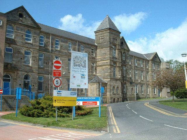 Burnley General Hospital Map Burnley General Teaching Hospital   Wikipedia Burnley General Hospital Map