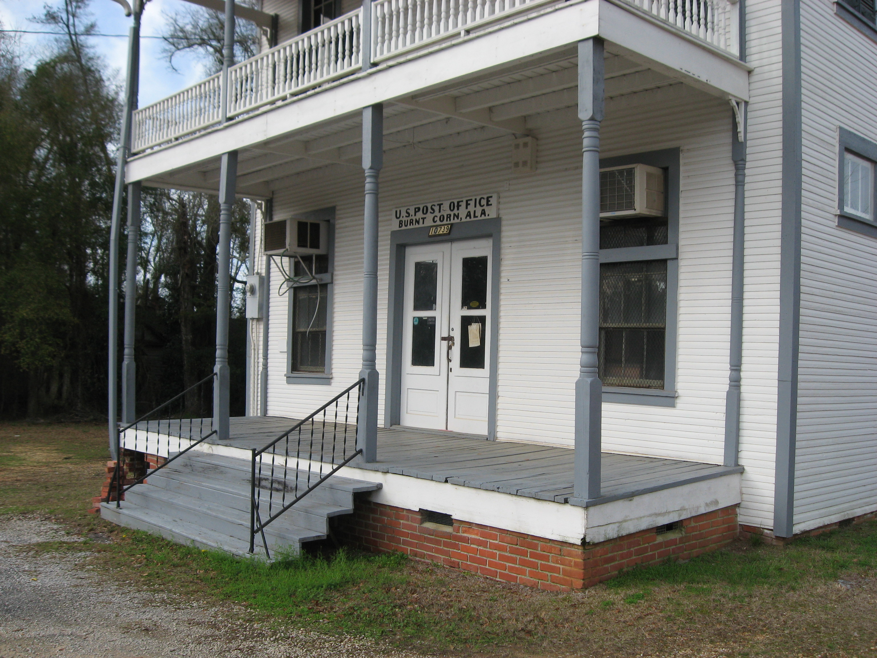 Burnt Corn, Alabama, Lowrey's General Store and Post Office.JPG