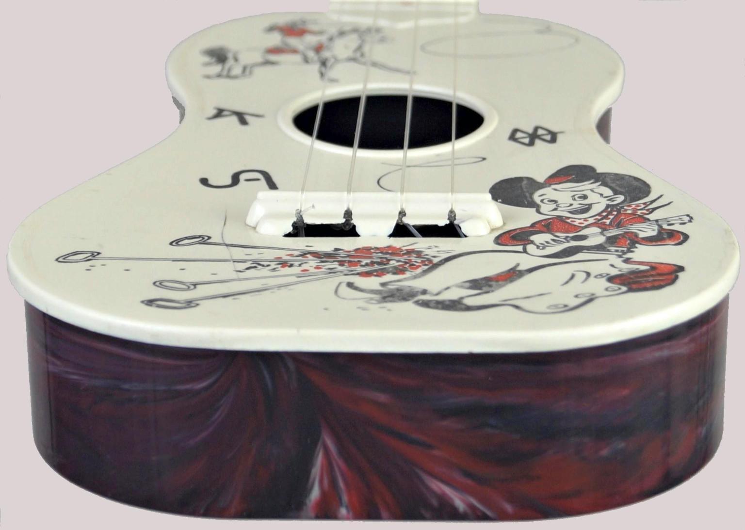 carnival ukelele plastic mini sopranino