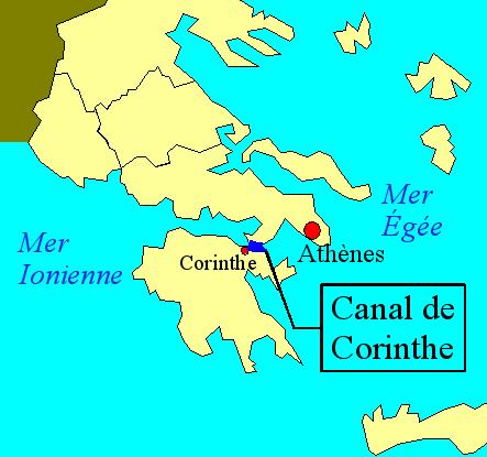File:Carte du Canal de Corinthe.png