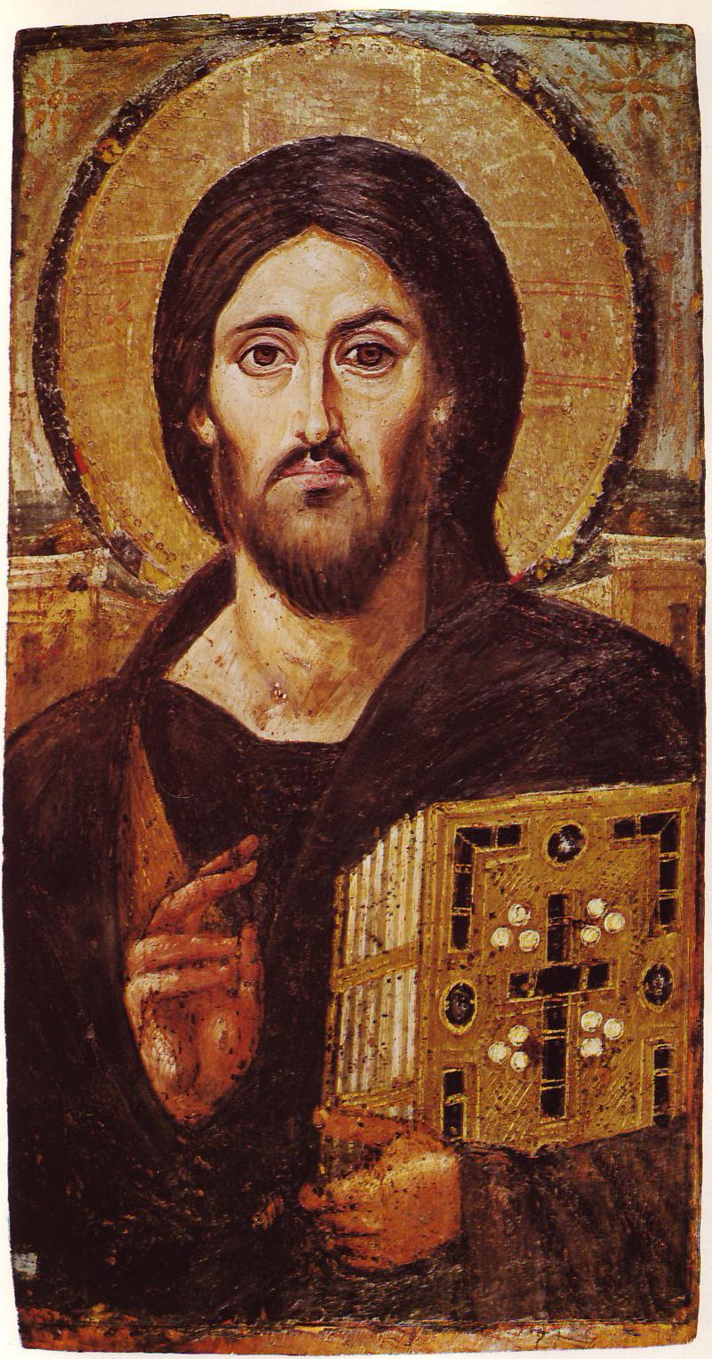 ファイル christ icon sinai 6th century jpg wikipedia