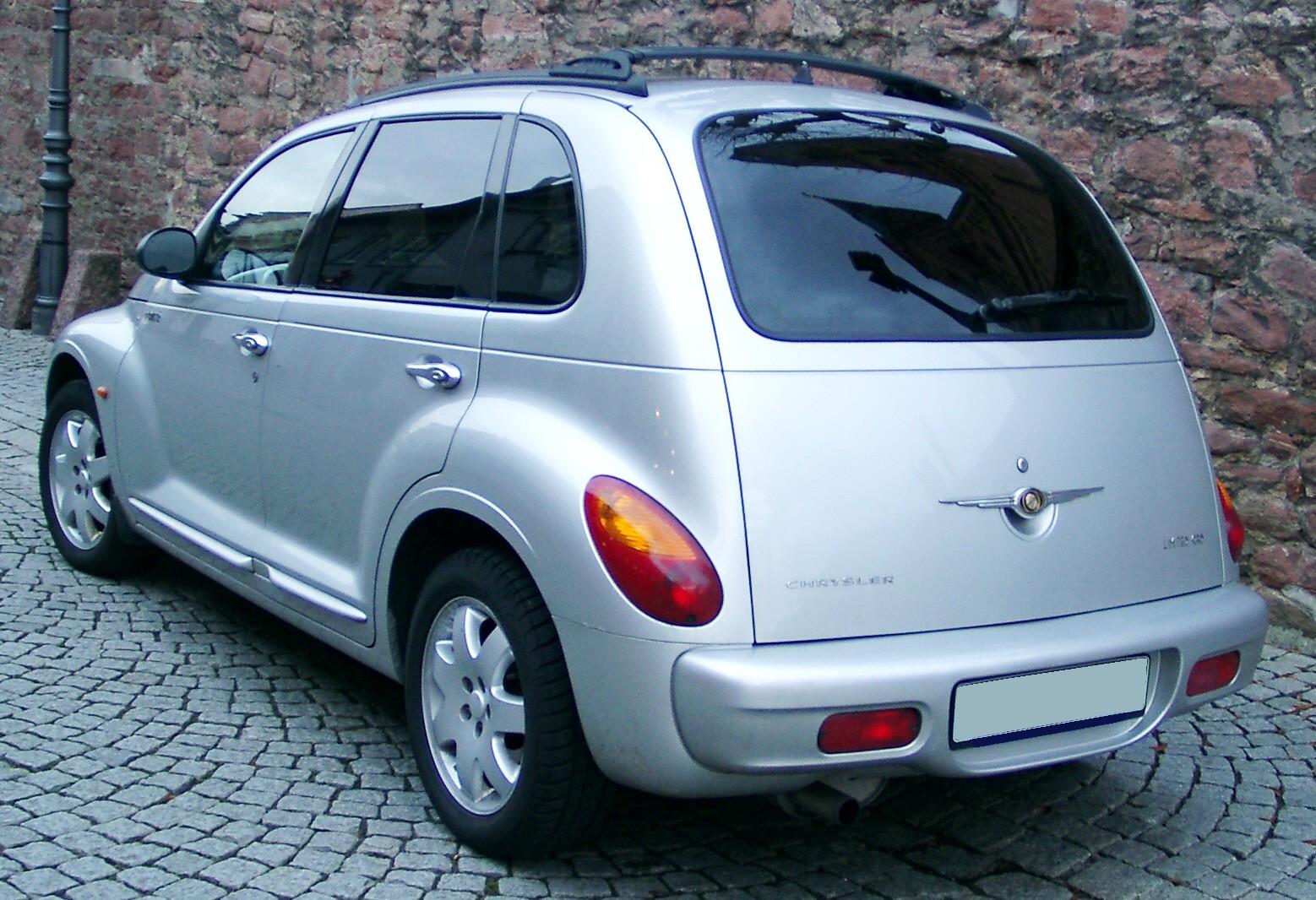 File:Chrysler PT Cruiser rear 20071211.jpg - Wikipedia