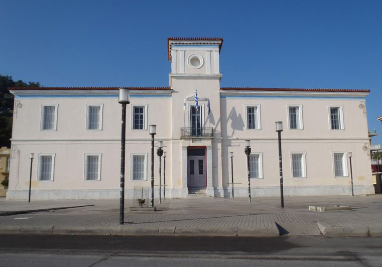 City hall of Gytheio