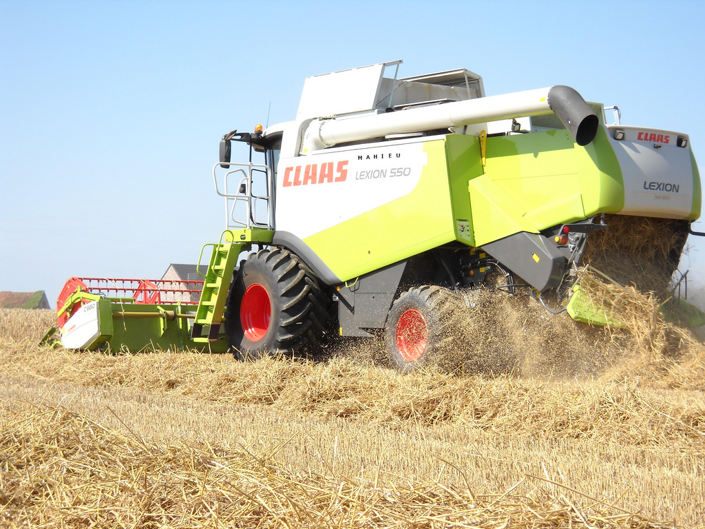 Claas Lexion is a combine harvester series which are manufactured by ...