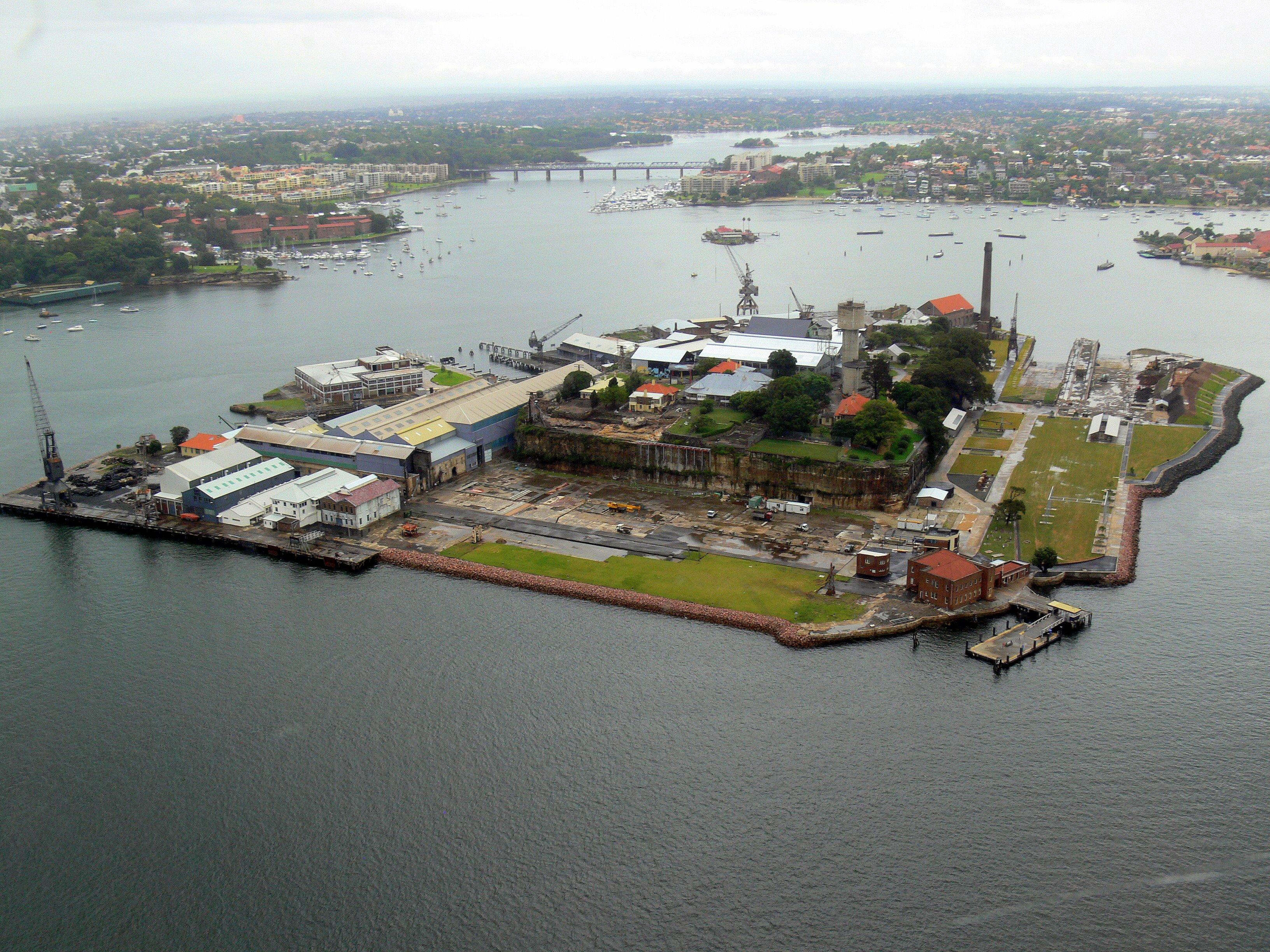 Free Ferry To Cockatoo Island