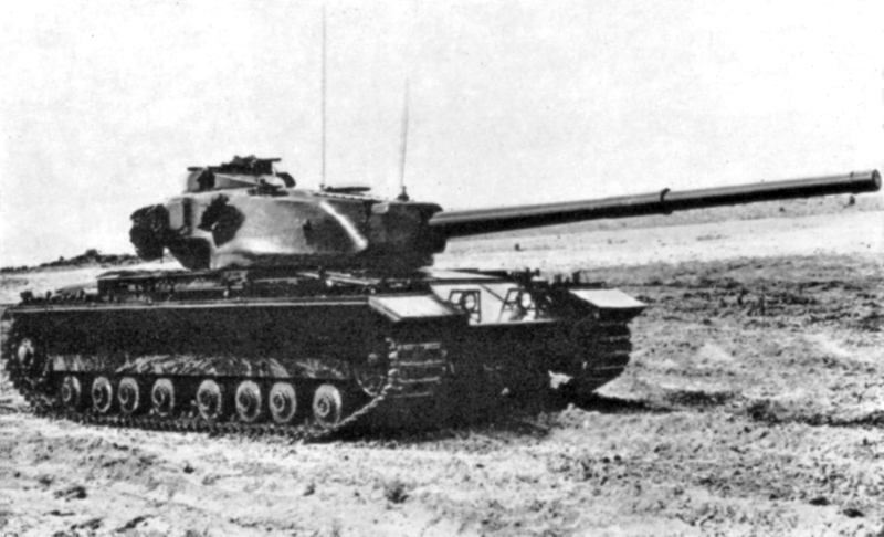 The Conqueror heavy tank