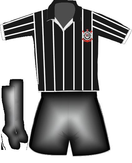 Evolução dos uniformes do Sport Club Corinthians Paulista ... 83b40ab1395c6