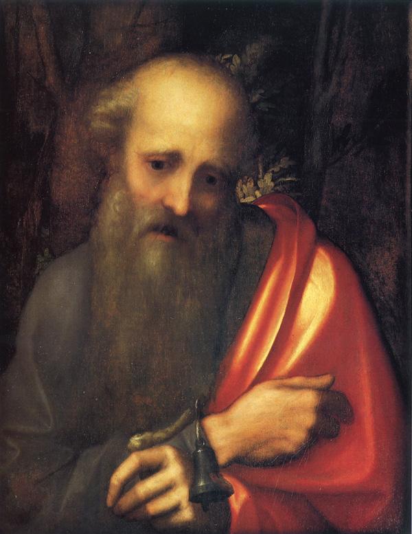 Sant 39 antonio abate correggio wikipedia for Arredo bimbo sant antonio abate