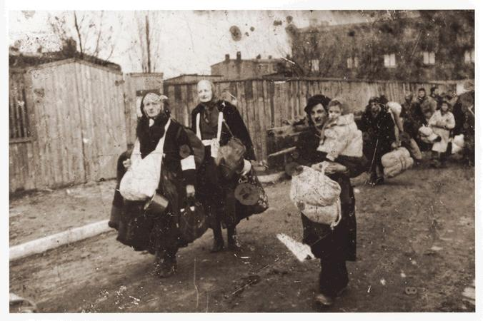 Deportation. Photo: US Holocaust Memorial Museum
