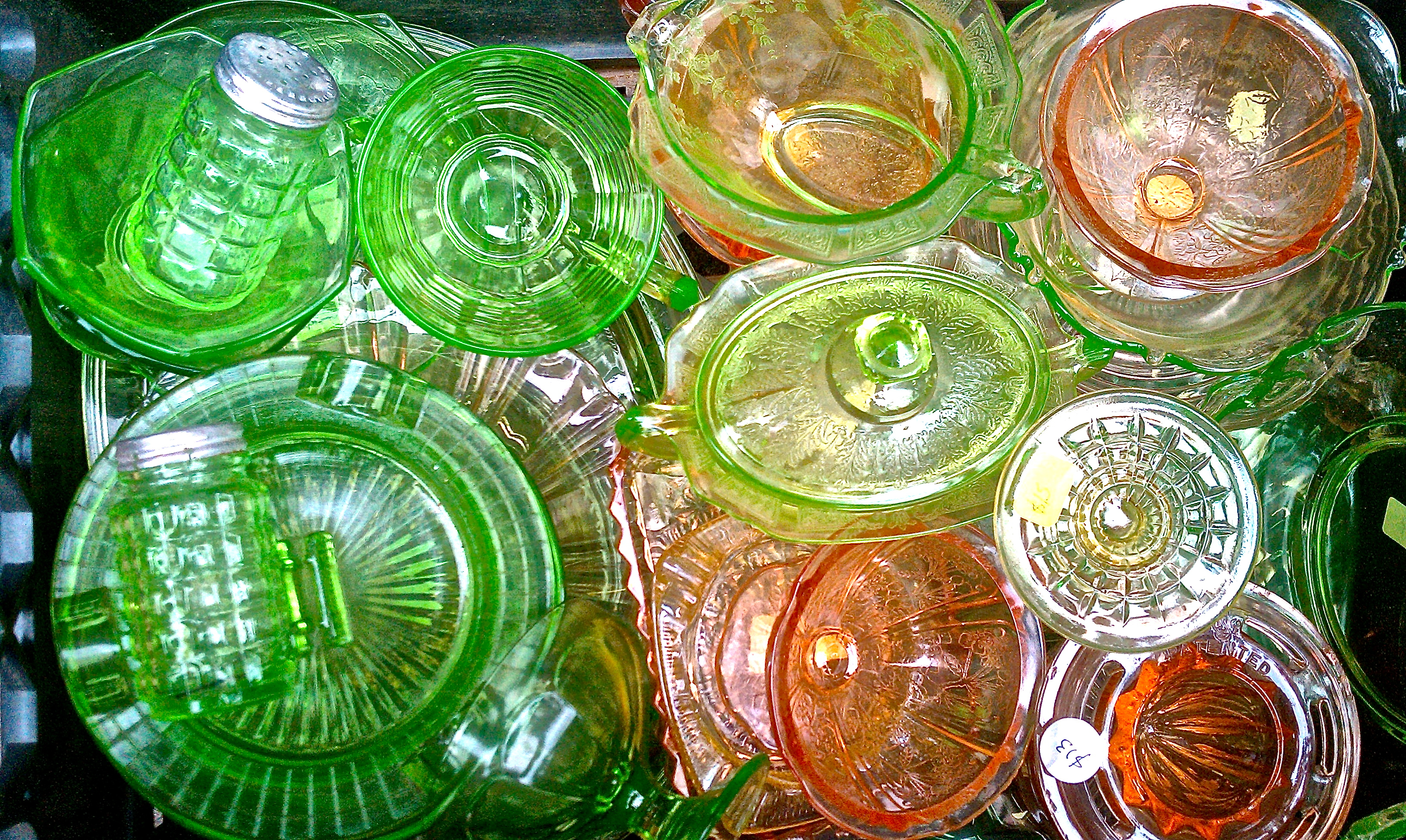 Most Valuable Depression Glass Patterns Amazing Decoration