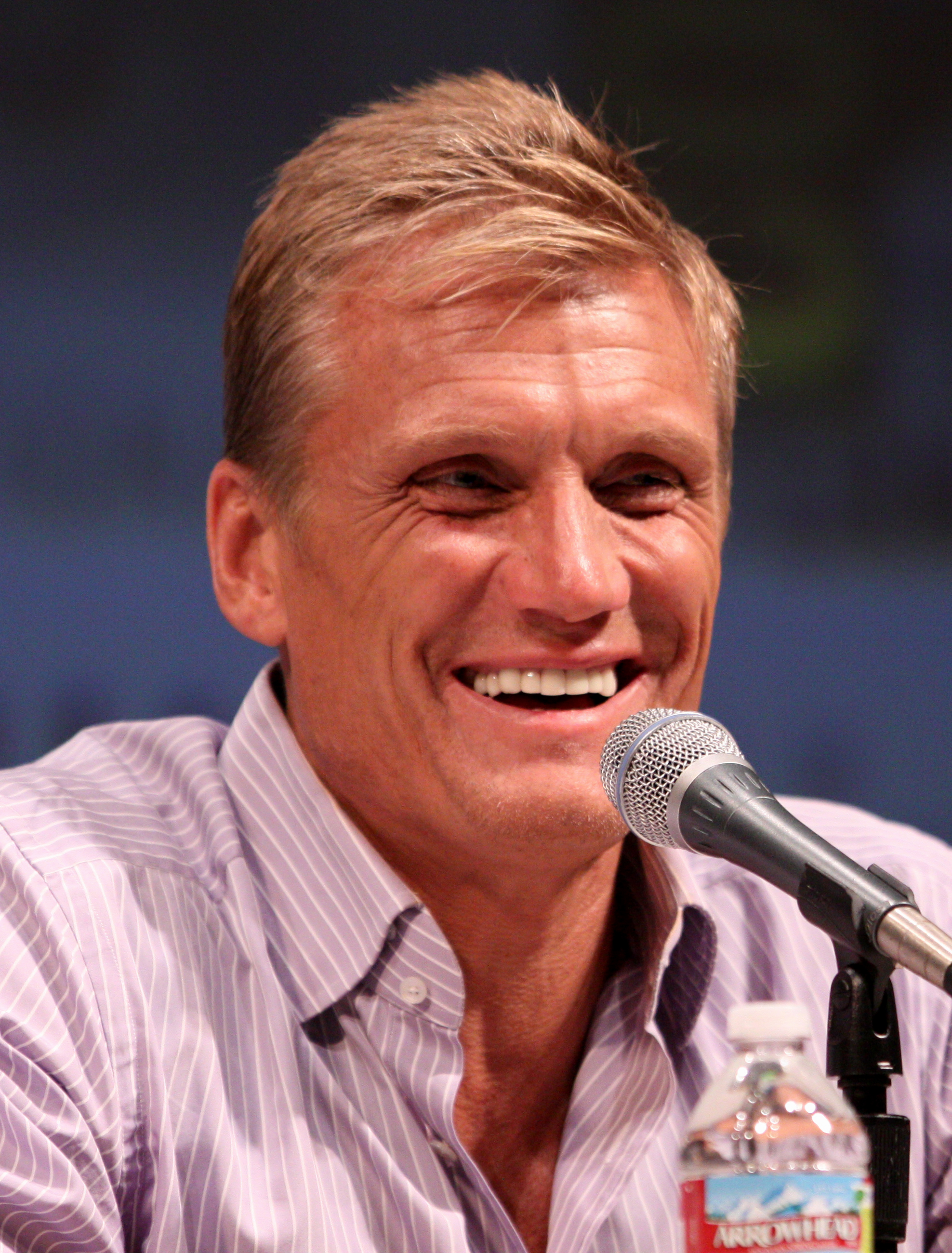 Lundgren in July 2010