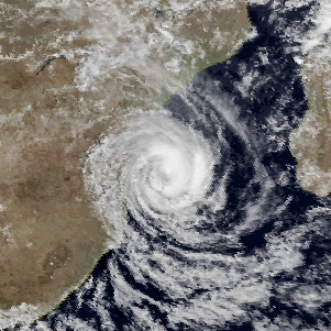 South-West Indian tropical storm in 1984
