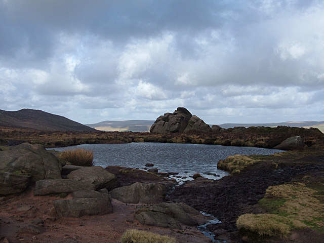 Doxey Pool, The Roaches - geograph.org.uk - 680750