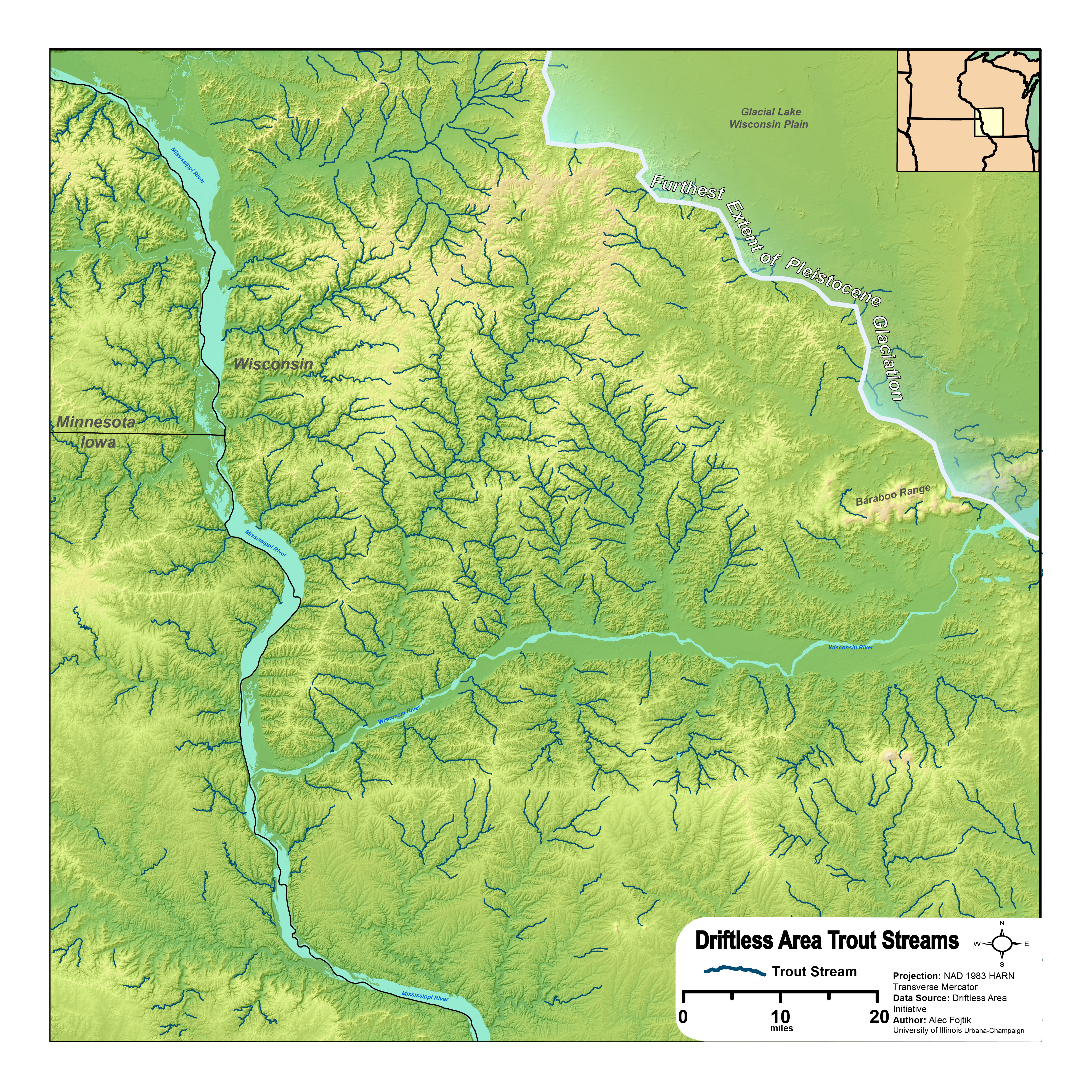filedriftless trout streamspng wikimedia commons. wisconsin trout streams map professor higbee's® stream  lake