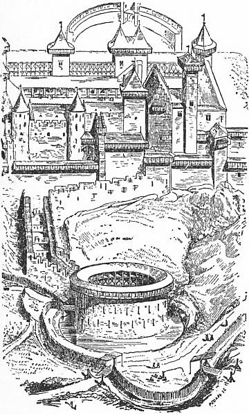 EB1911 Fortification - Fig. 6.—Carcassonne Castle and Barbican.jpg