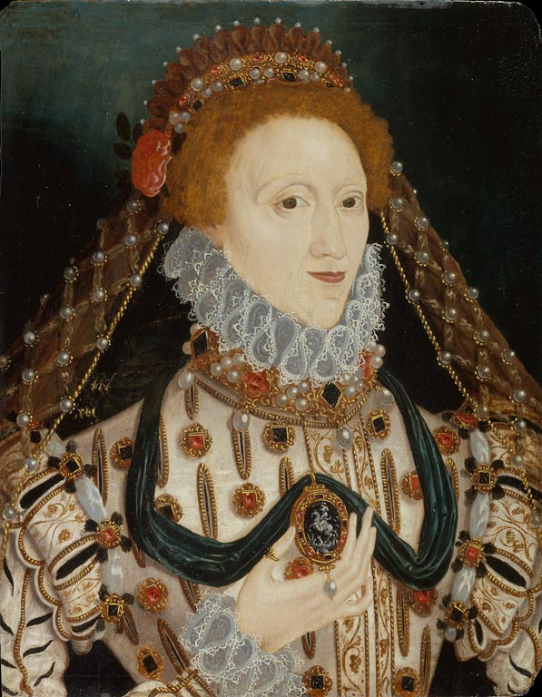 Elizabeth I Unknown Artist c 1575 v 2