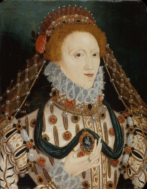 Elizabeth I Unknown Artist c 1575 v 2
