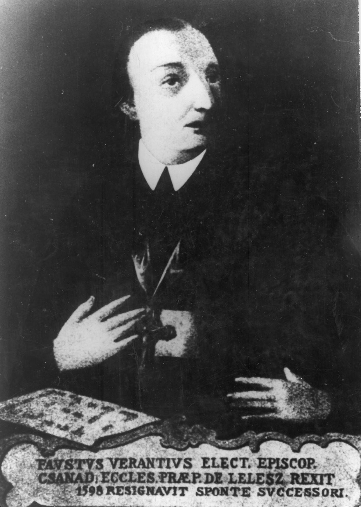 Portrait of Fausto Veranzio