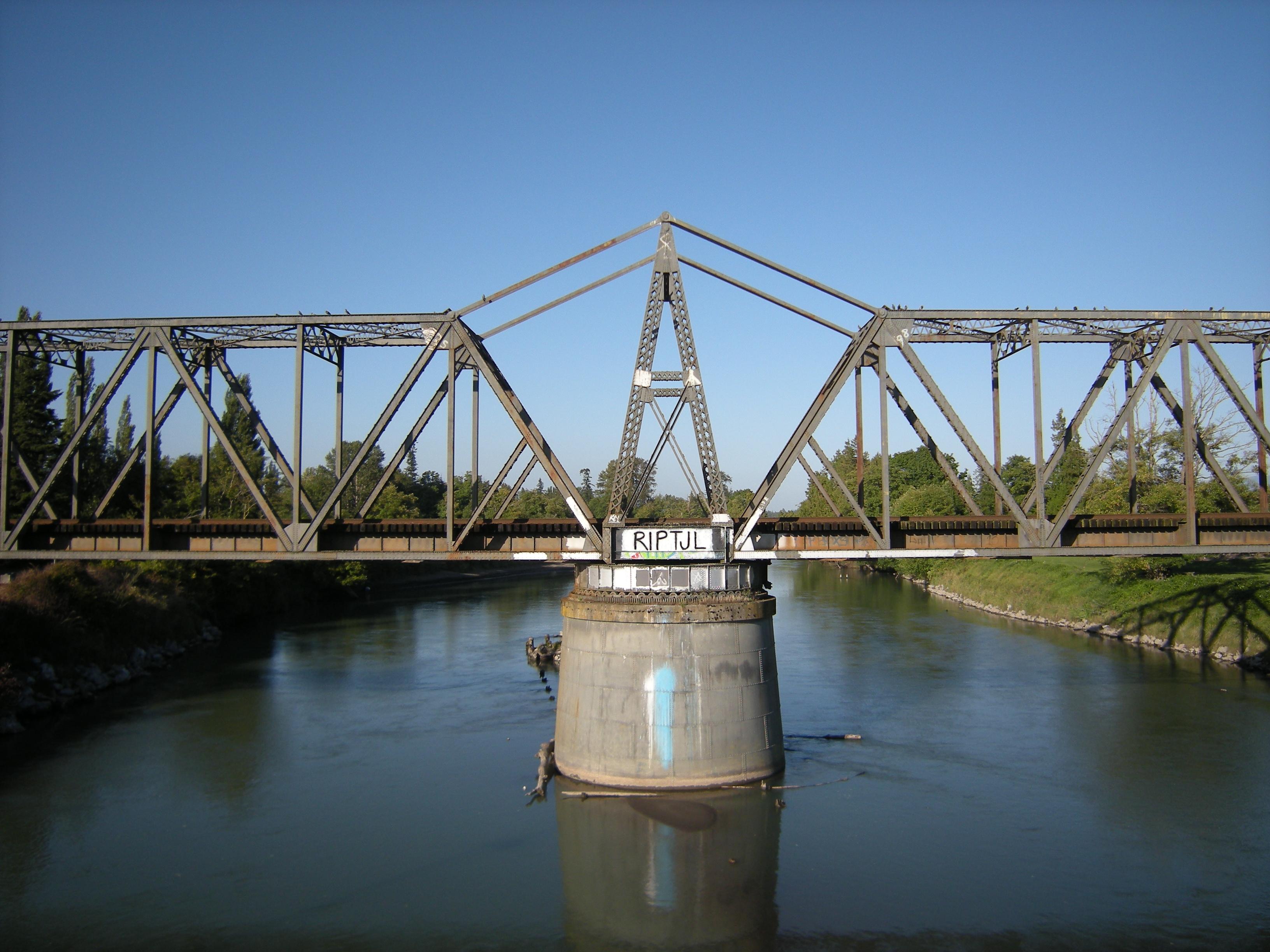 File Ferndale Wa Rail Bridge Over The Nooksack 03 Jpg