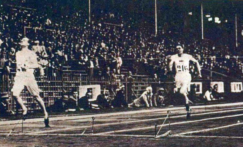 Eric Liddell 400 meter finish