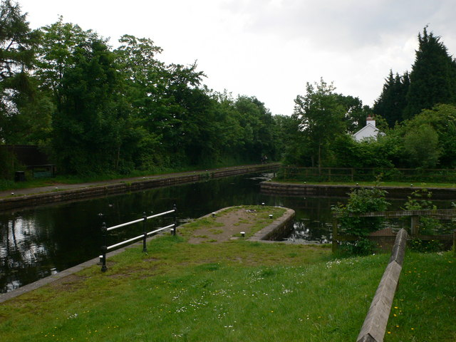 Five Locks Basin, Cwmbran - geograph.org.uk - 836549
