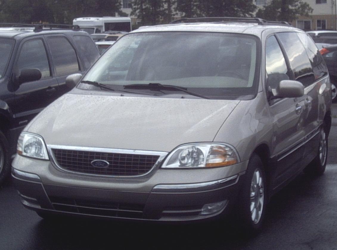 2003 Ford Windstar : File ford windstar  van g wikimedia commons