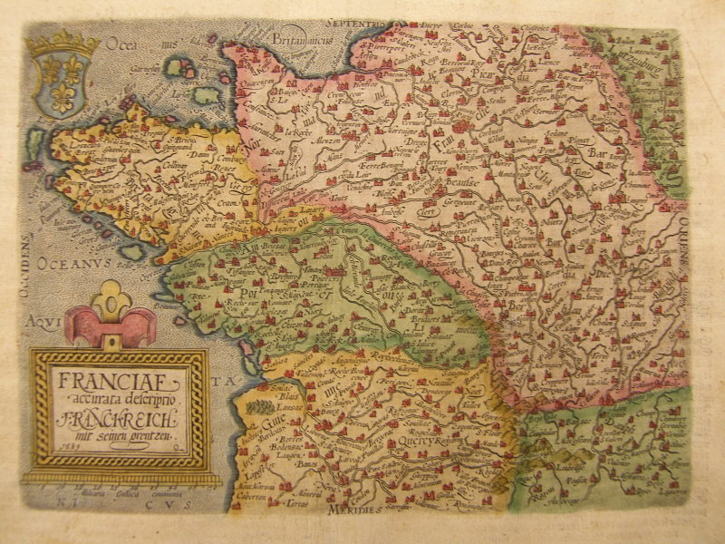 Map Of France 1600.File France From Geographisch Handtbuch Jpg Wikimedia Commons