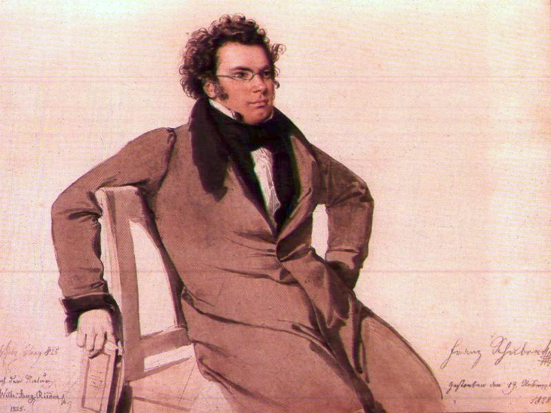 Image result for wiki commons picture of Franz Schubert