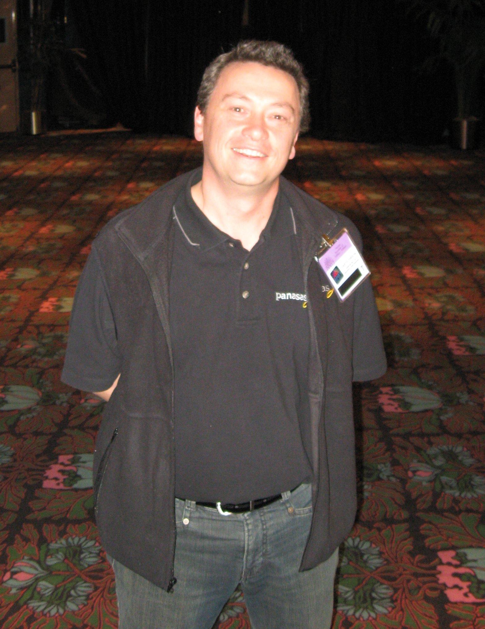Garth Gibson at Supercomputing 2007