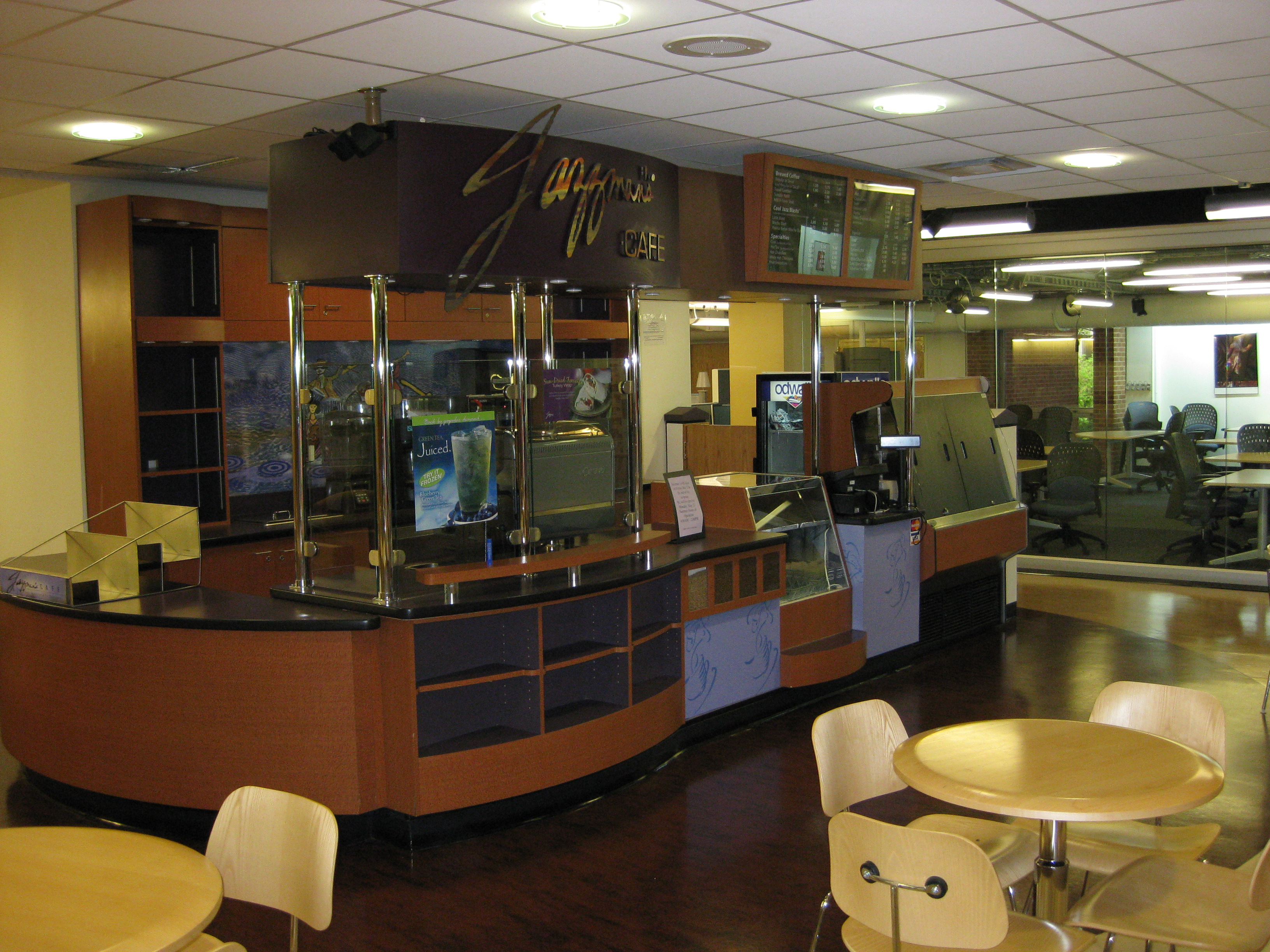 Jazzman S Cafe Kent State Menu