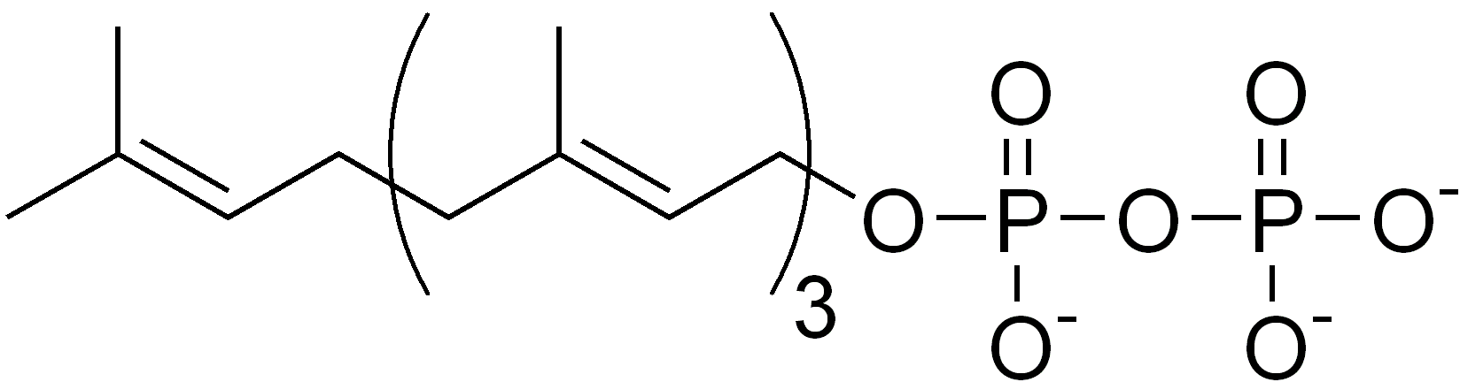 Depiction of Pirofosfato de geranilgeranilo
