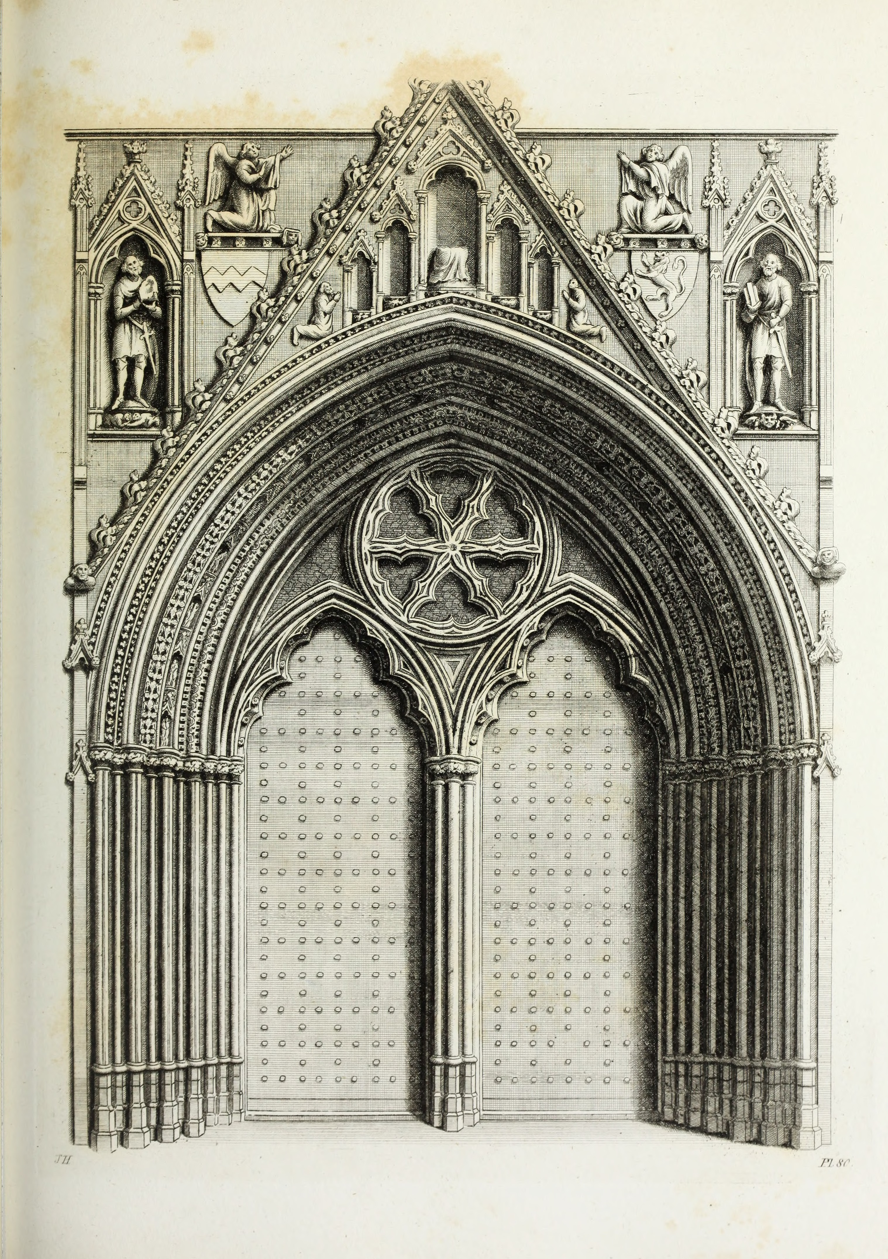 FileGothic Ornaments In The Cathedral Church Of York 1795 14803021373