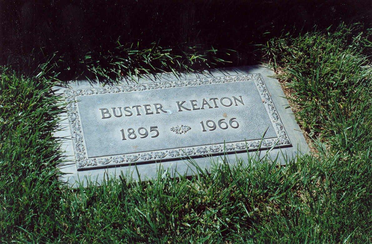 Grab von Buster Keaton