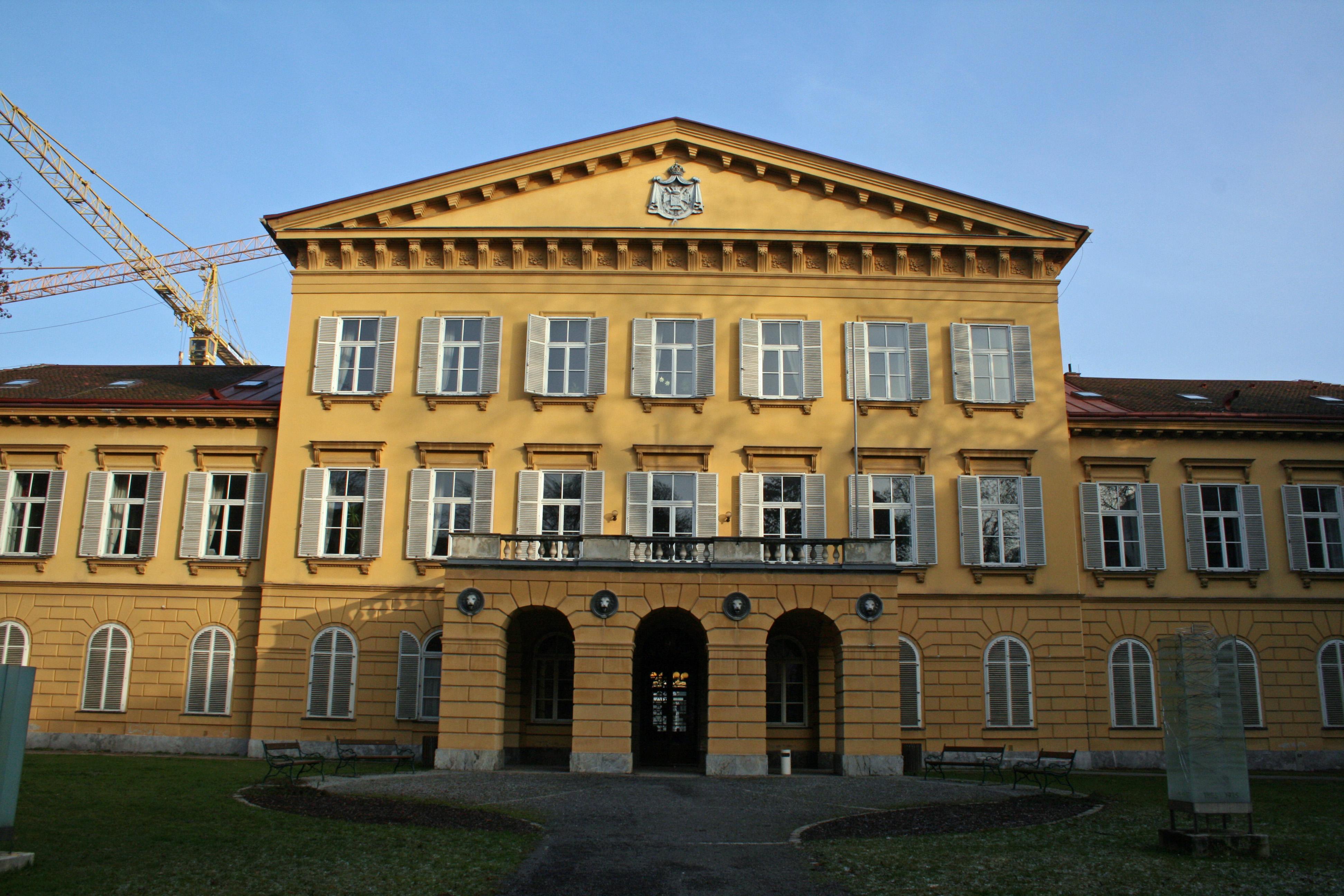 Hauptgebäude der Kunstuniversität Graz im Palais Meran