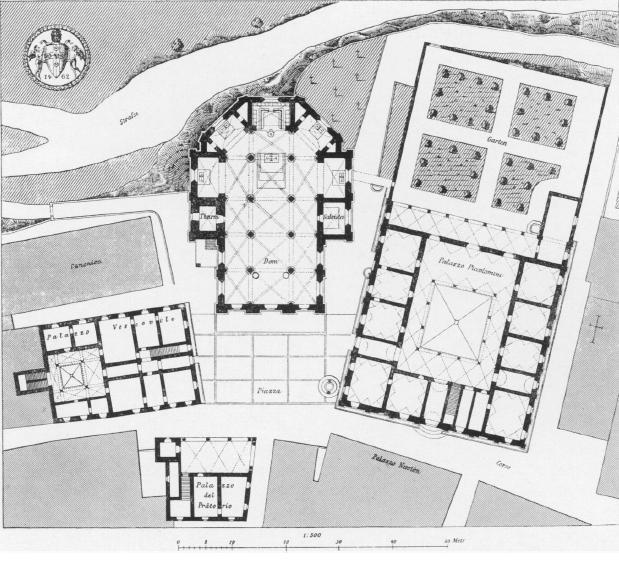 Pienza sguardo sul medioevo for Planimetrie popolari