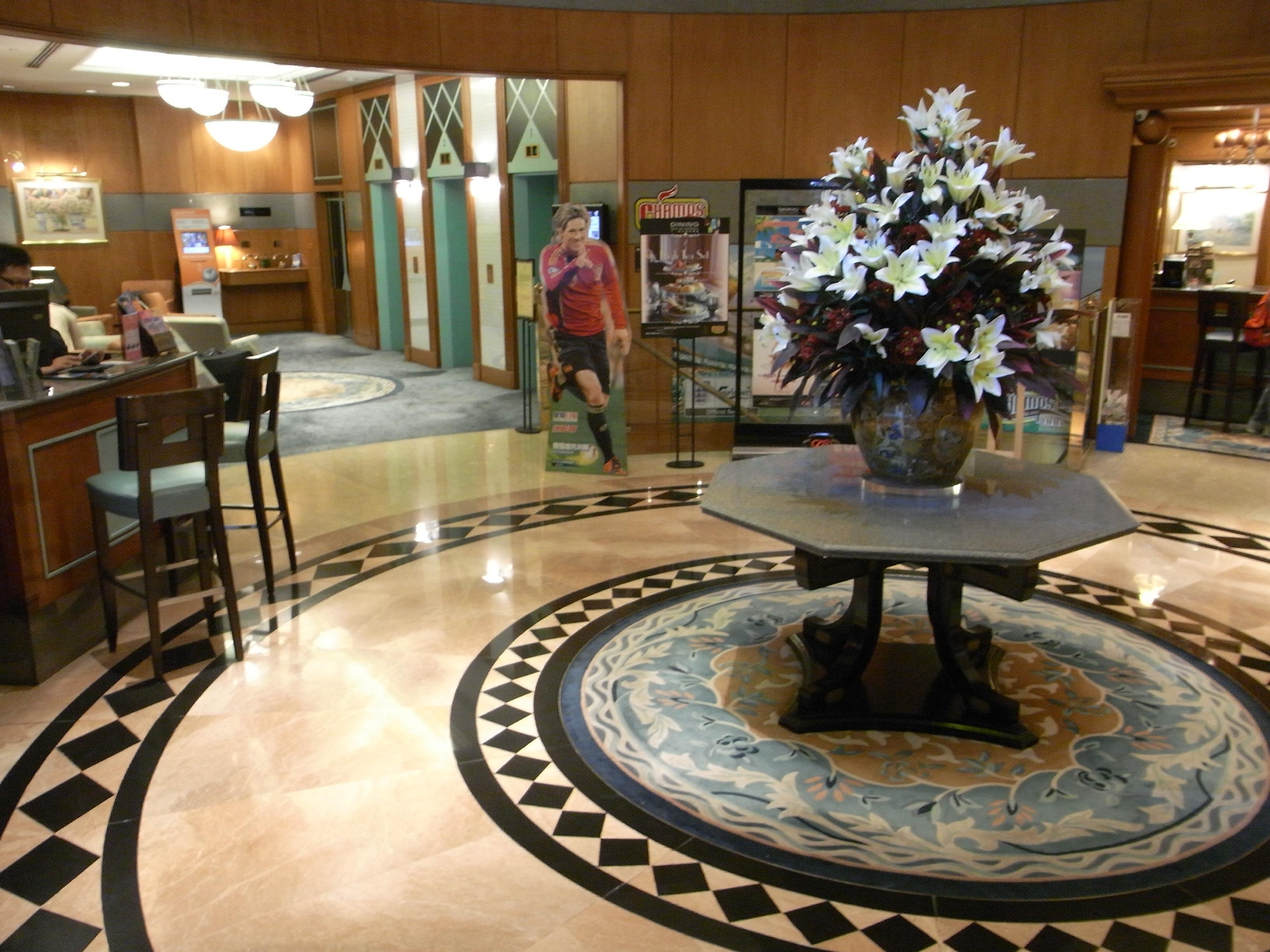 File:HK Wan Chai 灣仔 利景酒店 Charterhouse Causeway Bay Hotel Lift Lobby Hall