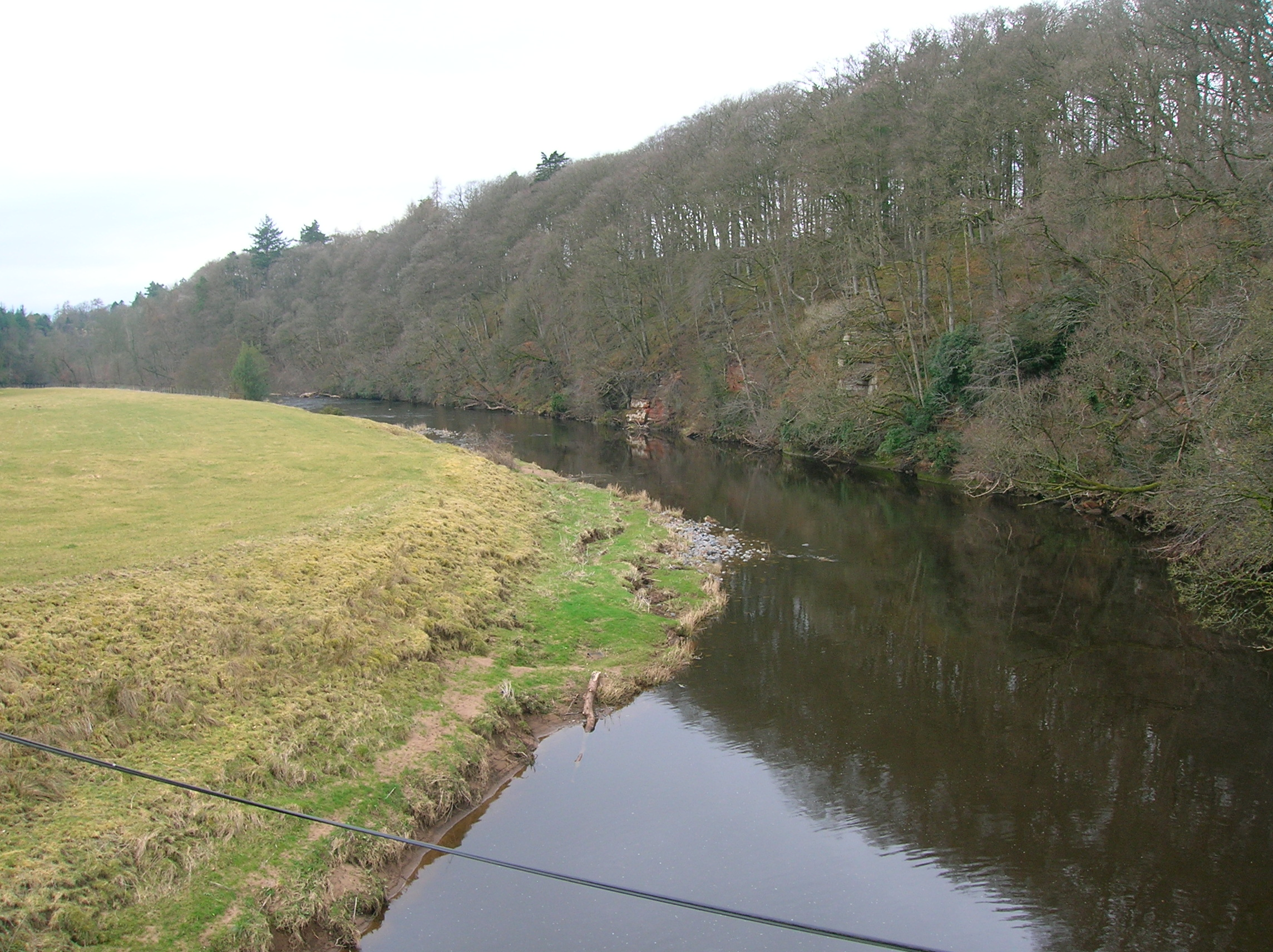 File:Holm on the River Ayr, where Robert Burns wrote 'Man